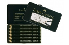 Faber Castell 9000 Art, Sada dřevěných grafitových tužek