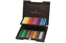 Faber Castell Albrecht Durer, akvarelové pastelky 72 ks v dřevěné kazetě