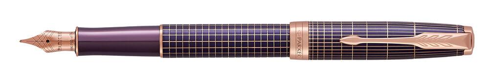 Parker Royal Sonnet Purple Chiselled PGT, plnicí pero