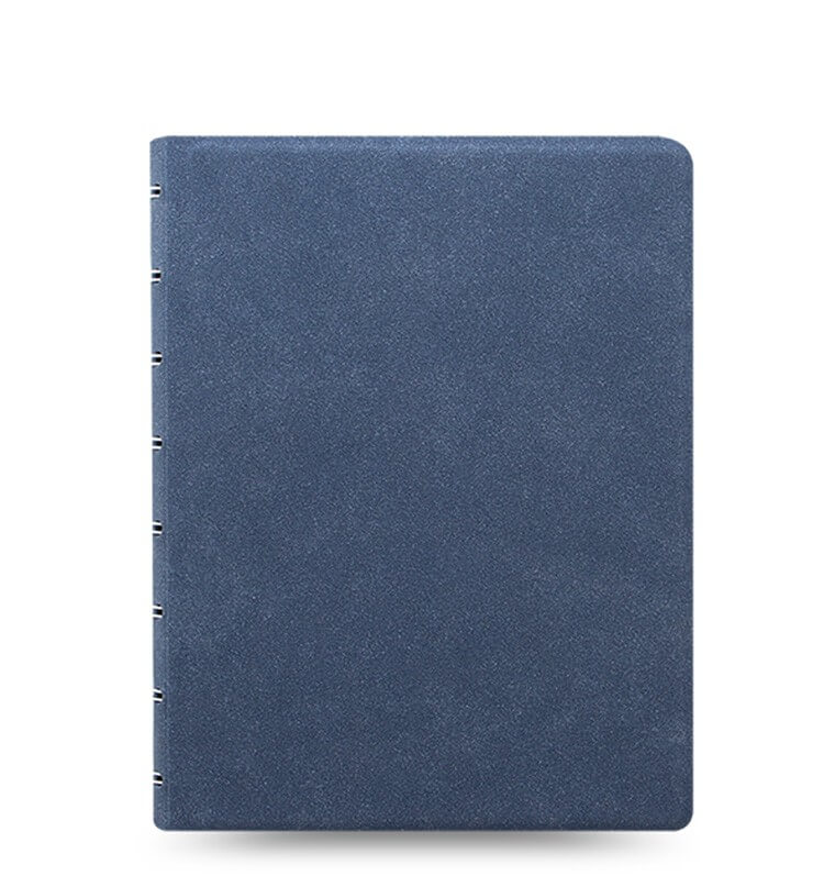 Filofax Architexture Blue Suede A5 zápisník