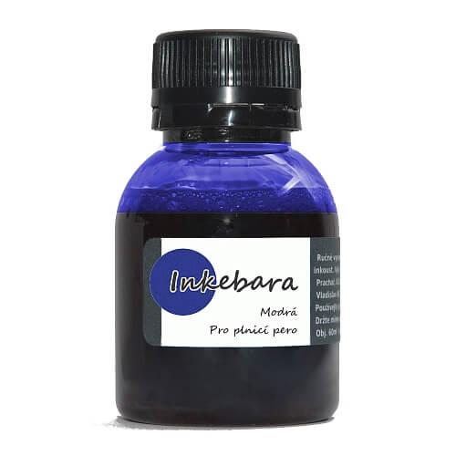 Inkebara Modrý lahvičkový inkoust