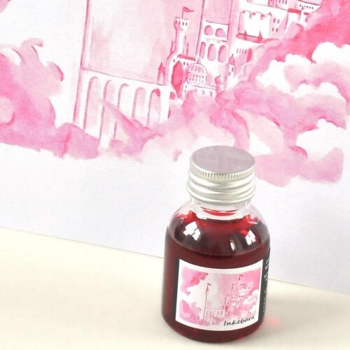 Inkebara LE Růžová pohádková lahvičkový inkoust