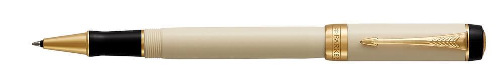 Parker Royal Duofold Ivory & Black GT, keramické pero