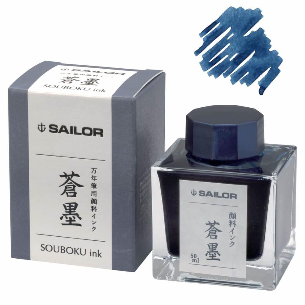 Sailor Sou-Boku, modročerný inkoust
