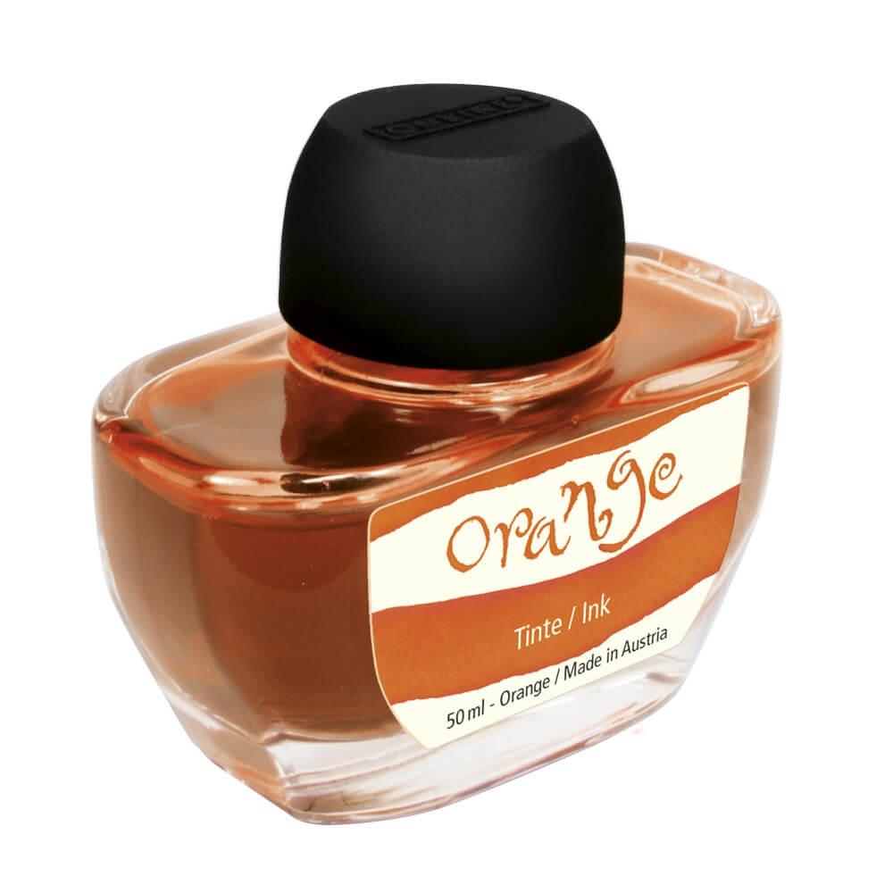 Online Orange, oranžový lahvičkový inkoust 50 ml