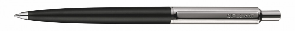 Diplomat Equipment Black, kuličkové pero