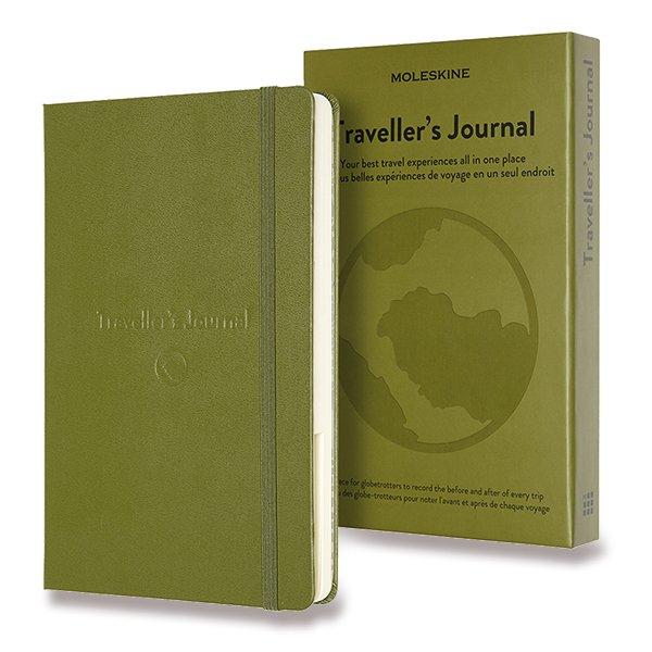 Moleskine Passion Travel Journal A5 khaki zápisník