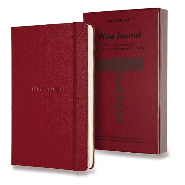 Moleskine Passion Wine Journal A5 vínový zápisník
