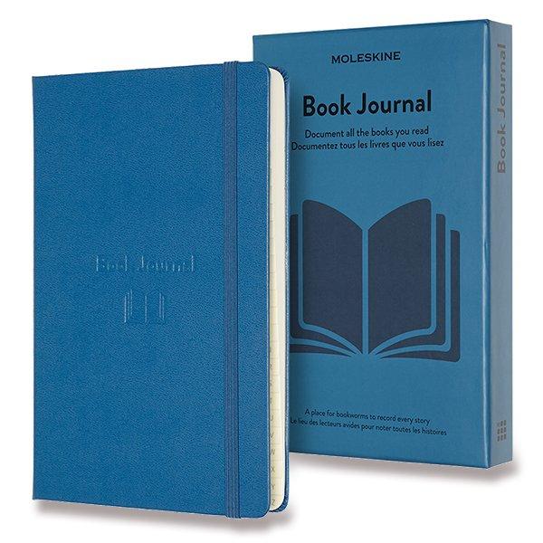 Moleskine Passion Books Journal A5 modrý zápisník