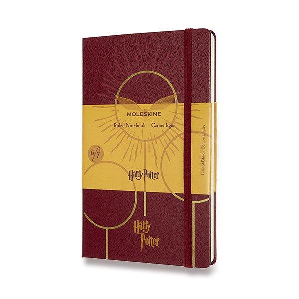 Moleskine Harry Potter Book 6 A5 vínový zápisník