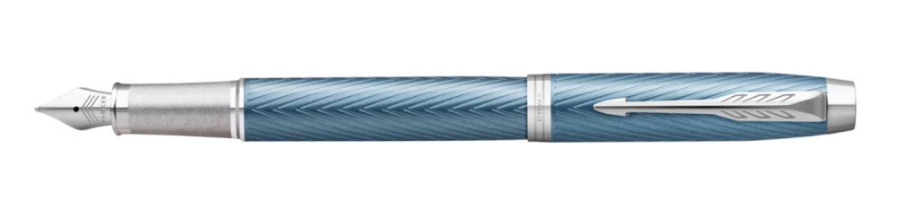Parker Royal I.M. Premium Blue Grey CT, plnicí pero