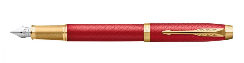 Parker Royal I.M. Premium Red GT, plnicí pero