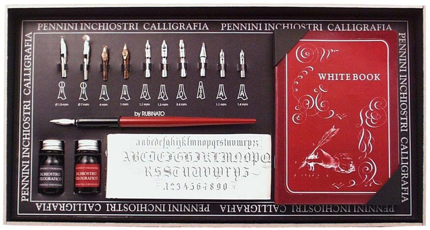 Rubinato kaligrafická sada 5306