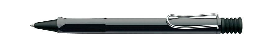 Lamy Safari Shiny Black, kuličkové pero