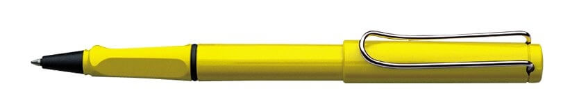 Lamy Safari Shiny Yellow, keramické pero