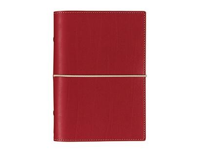 Diář Filofax Domino osobní červený