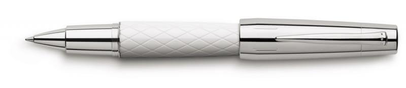 Faber Castell E-Motion Rhombus White, keramické pero