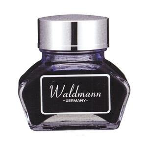 Waldmann Blue, modrý lahvičkový inkoust