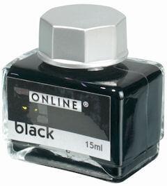 Online Black, černý lahvičkový inkoust