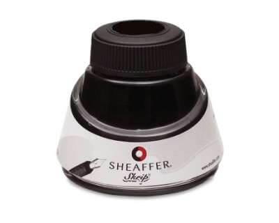 Sheaffer Jet Black, černý lahvičkový inkoust