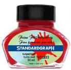 Standardgraph Tulip Red inkoust tulipánově červený