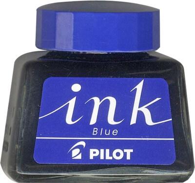 Pilot Blue, modrý lahvičkový inkoust