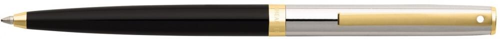 Sheaffer Sagaris Black Barrel/Chrome Cap, kuličkové pero