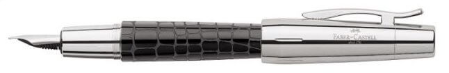 Faber-Castell E-Motion Croco Black, plnicí pero