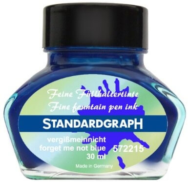 Standardgraph Forget me not blue inkoust modrý