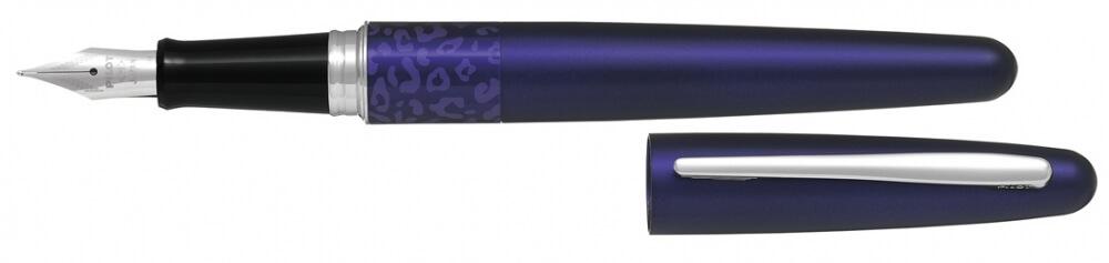 Pilot Middle Range Violet Leopard, plnicí pero