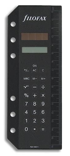 Filofax kalkulačka pro diáře osobní nebo A5