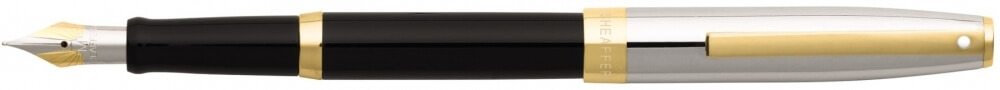 Sheaffer Sagaris Black Barrel/Chrome Cap, plnicí pero