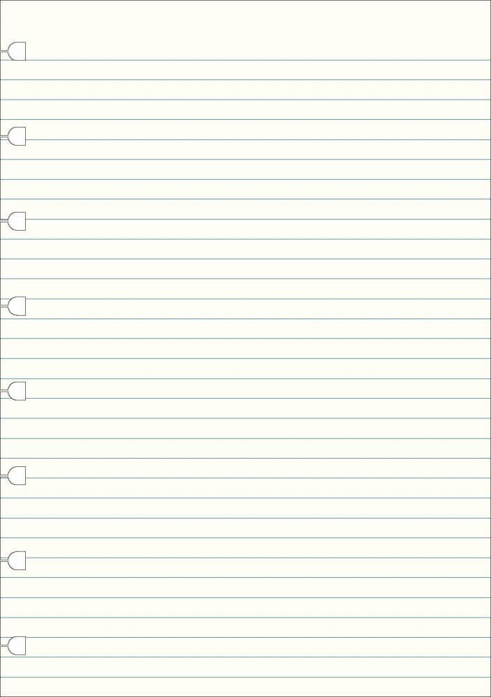 Filofax náhradní listy do zápisníků A5 - linkované