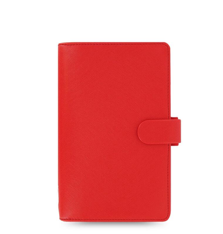 Diář Filofax Saffiano Compact červený