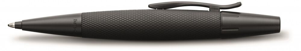 Faber-Castell E-Motion Metal Pure Black, kuličkové pero