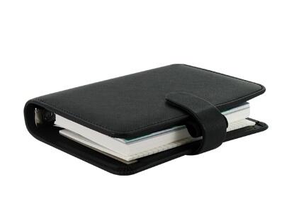 Diář Filofax Saffiano kapesní černý