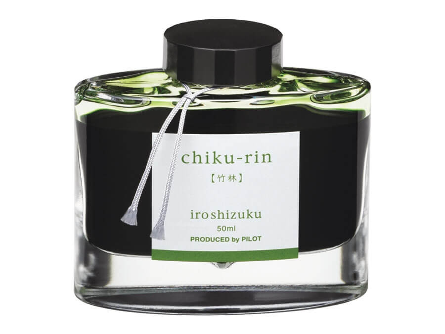 Pilot Iroshizuku Chiku-Rin - Bamboo Forest, lahvičkový inkoust