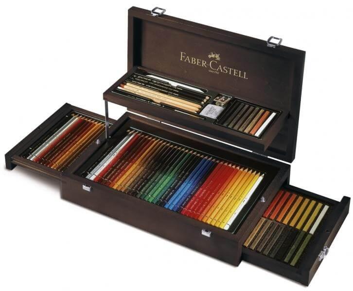 Faber Castell Art & Graphic dřevěná kazeta 126 ks