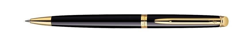 Waterman Hémisphere Black Lacquer GT, kuličkové pero