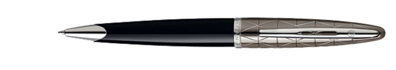 Waterman Carene Deluxe Contemporary Black ST, kuličkové pero