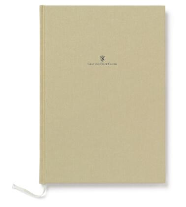 Graf von Faber Castell A5 Golden Brown zápisník