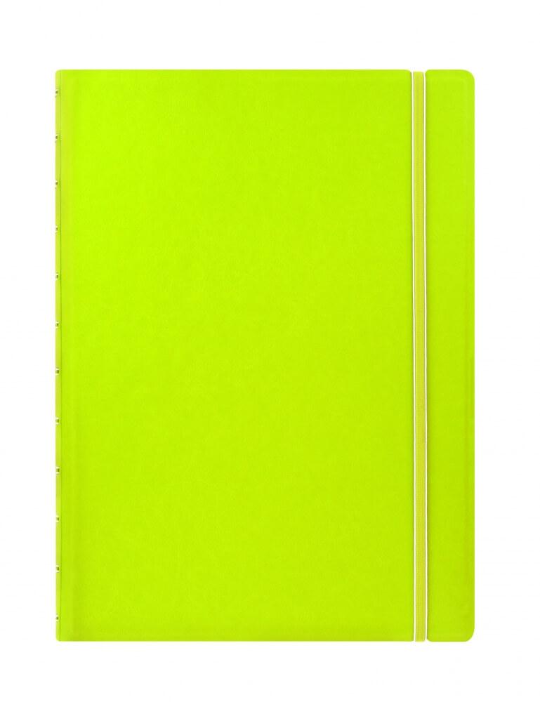Filofax Classic Lime A4 zápisník