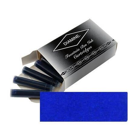 Diamine Royal Blue, inkoustové bombičky
