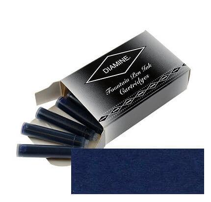 Diamine Blue Black, inkoustové bombičky
