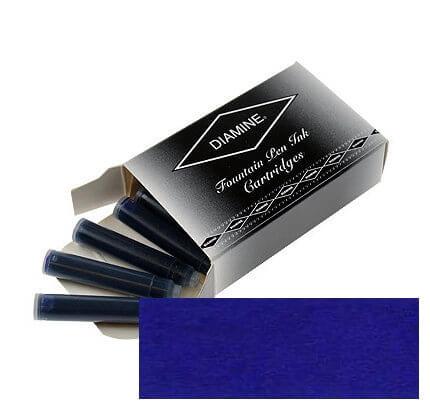 Diamine Imperial Blue, inkoustové bombičky