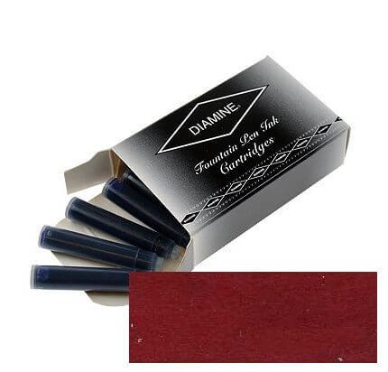 Diamine Monaco Red, inkoustové bombičky