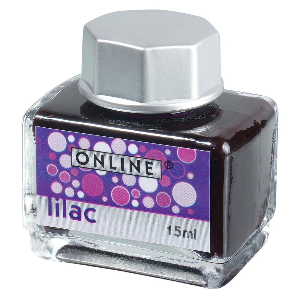 Online Rubin Lilac, fialový lahvičkový inkoust
