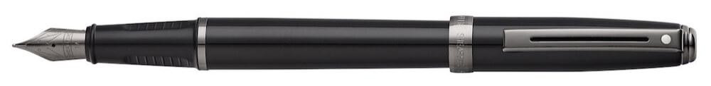 Sheaffer Prelude Gloss black/Gunmetal, plnicí pero