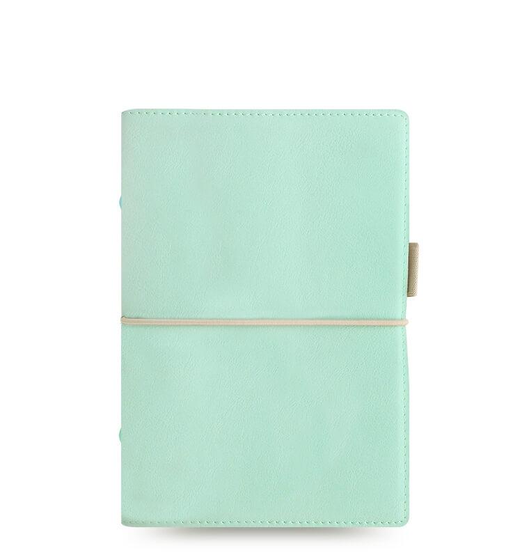 Diář Filofax Domino Soft osobní pastelový zelený