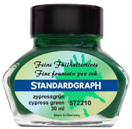 Standardgraph Cypress Green inkoust cypřišově zelený
